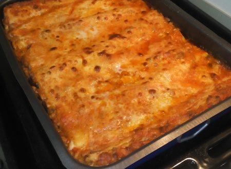 Lasagne alla bolognese in 2 step