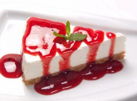 Cheesecake ricetta senza forno