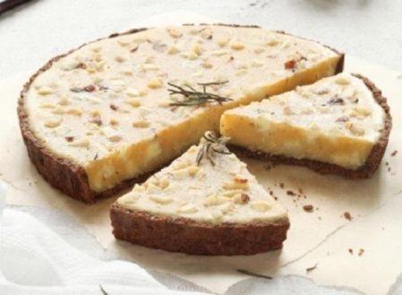 Crostata di crema al limone  speziata
