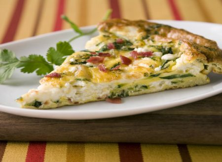 Frittata light di patate e zucchine