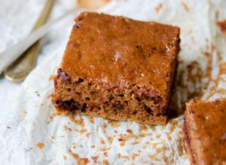 Brownies con zucca e cioccolata