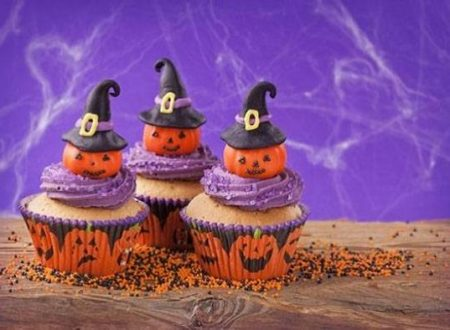 Decorazione cupcake per Halloween