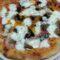 Pizza a lunga lievitazione con farina di semola